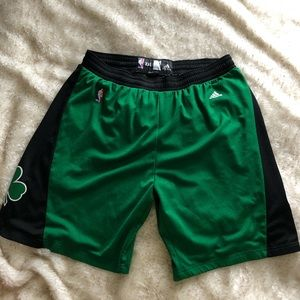 Celtics Authentic NBA Shorts